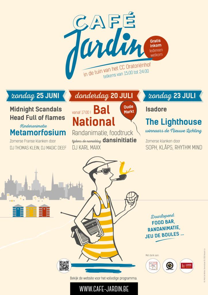 Café Jardin Leuven 2017